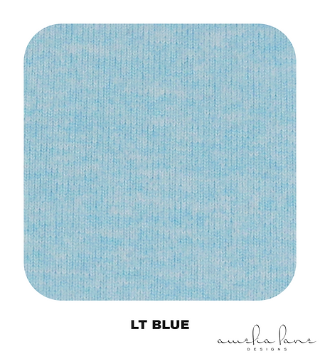 Light Blue - Athletic Brushed Poly - 265GSM - PRE-ORDER