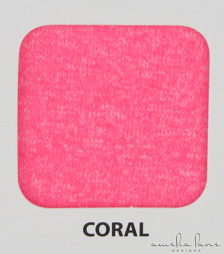 Coral - Athletic Brushed Poly - 265GSM - PRE-ORDER