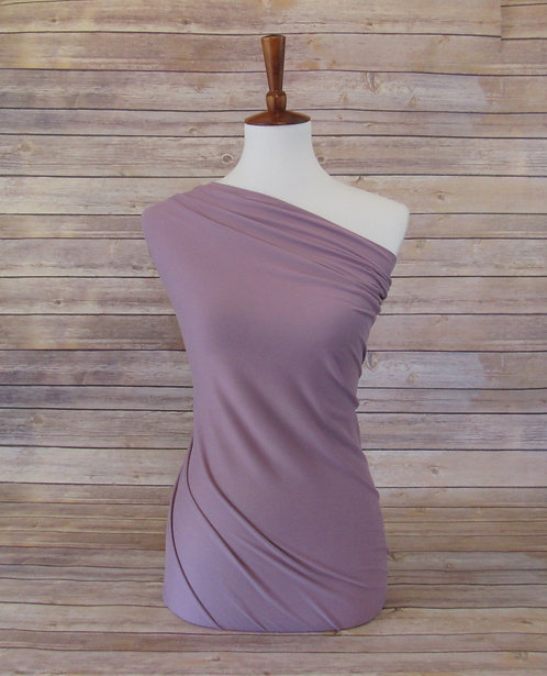 Vintage Plum - Double Brushed Poly - Solids