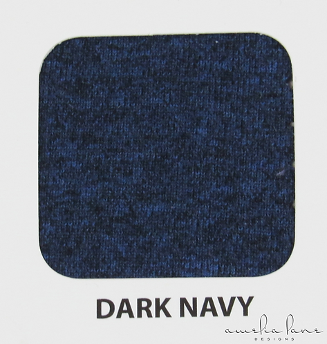 Dark Navy - Athletic Brushed Poly - 125GSM - PRE-ORDER