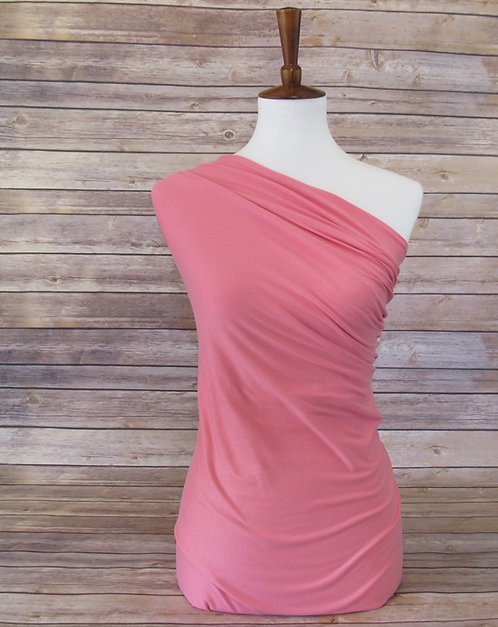Pink - Double Brushed Poly - Solids
