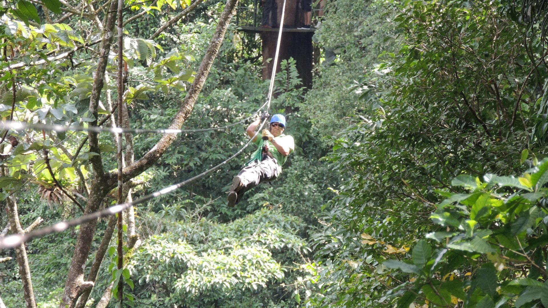 Bert Ziplining! (2)