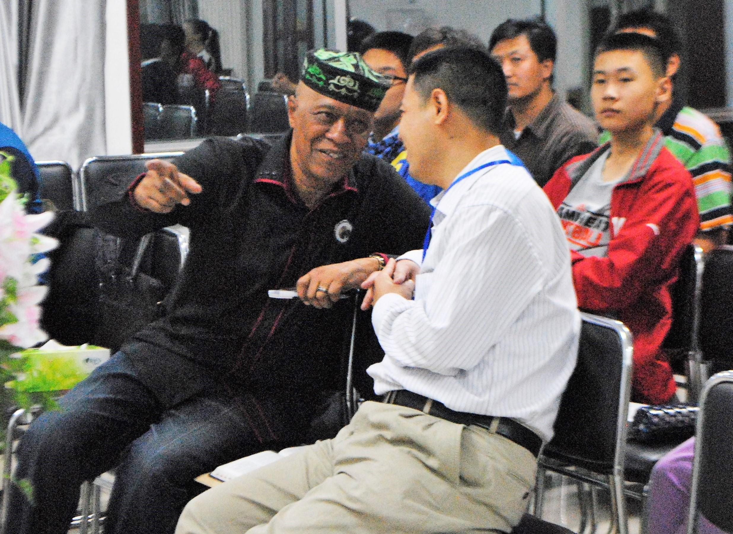 Bert & Pastor Peter Shi