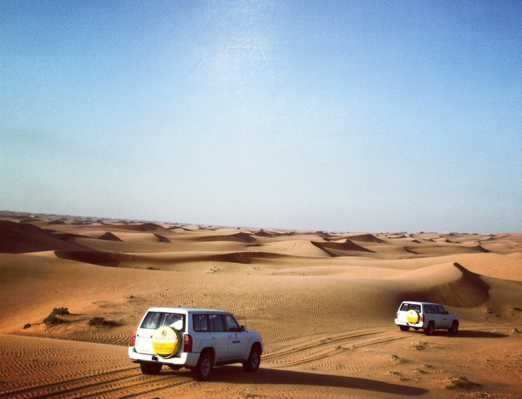 Outside of Dubai