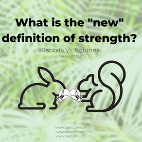 Rabbits Vs. Squirrels - WHAT IS THE NEW DEFINITION OF STRENGTH