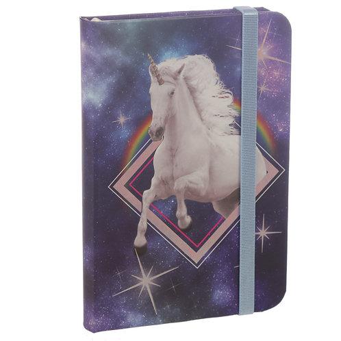 A6 Collectable Hardback Notebook - Cosmic Unicorn