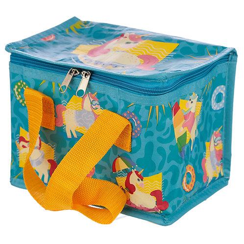 Tropical Unicorn Design Lunch Box Cool Bag
