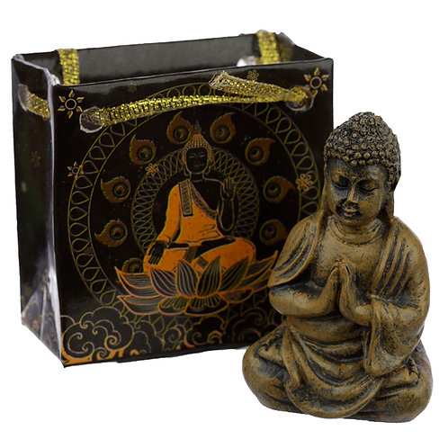 Mini Thai Buddha Figurine in a Gift Bag 5.5cm High