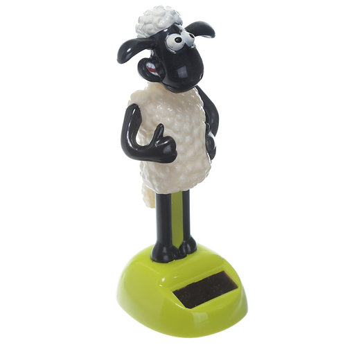 Collectable Licensed Solar Powered Pal - Shaun the Sheep