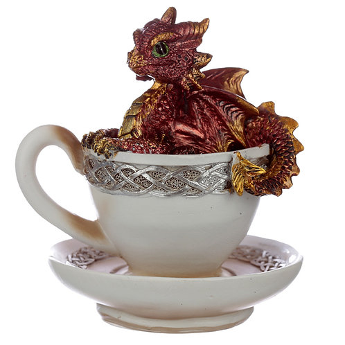 Elements Baby Dragon in a Teacup 11.5cm high