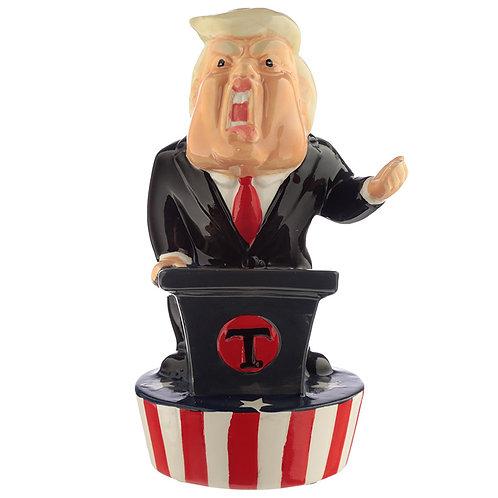 Novelty Ceramic The President Money Box