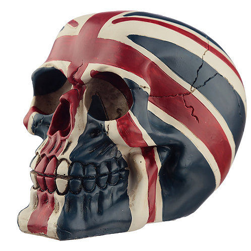 Novelty Union Flag Skull Ornament