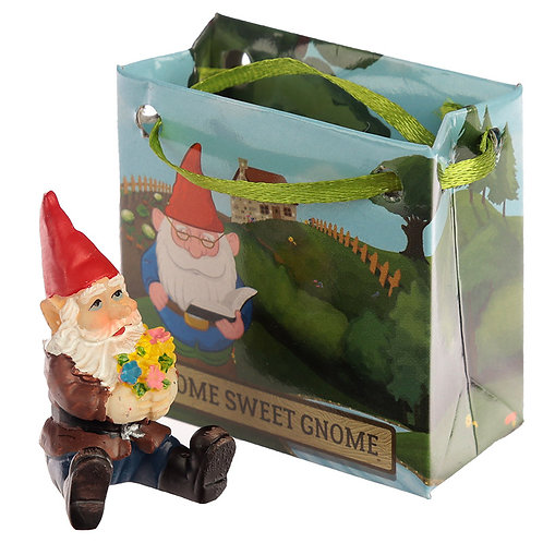 Cheeky Collectable Gnome in Mini Gift Bag