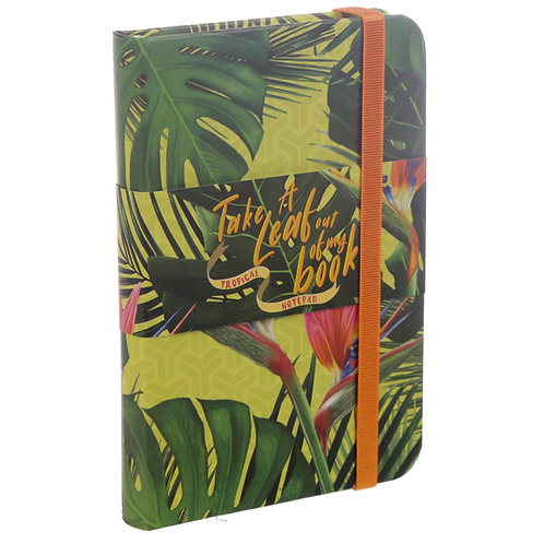 A6 Collectable Hardback Notebook - Tropical Paradise