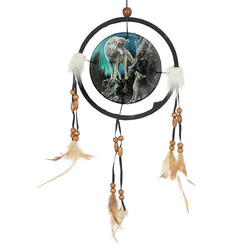 Decorative Wolf Design Dreamcatcher