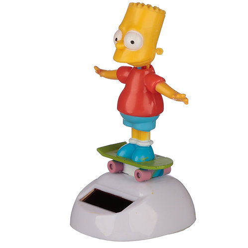 Licensed Bart Simpson Solar Powered Pal