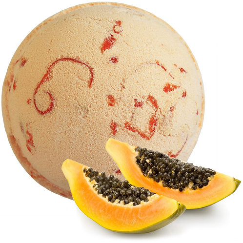 Tropical Paradise Coco Bath Bombs - Papaya