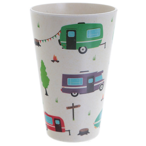 Bambootique Eco Friendly Caravan Design Cup