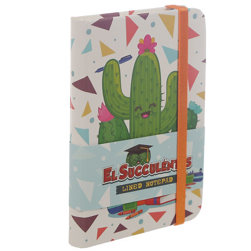 A6 Collectable Hardback Notebook - Cactus Design