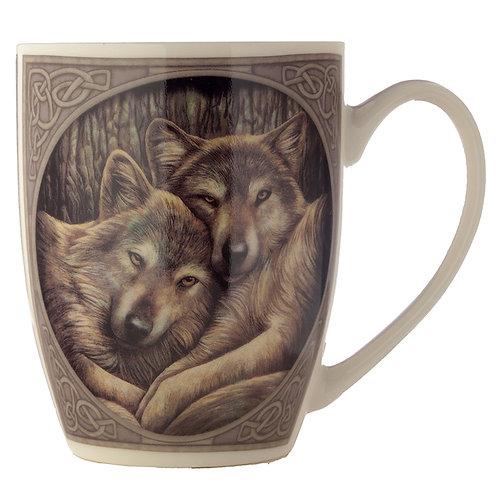 Wolves Loyal Companion Lisa Parker Designed New Bone China Mug
