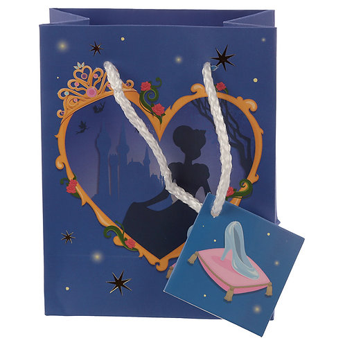 Happy Birthday Princess Design Small Gift Bag