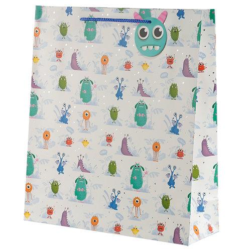 Monster Monstarz Design Extra Large Gift Bag