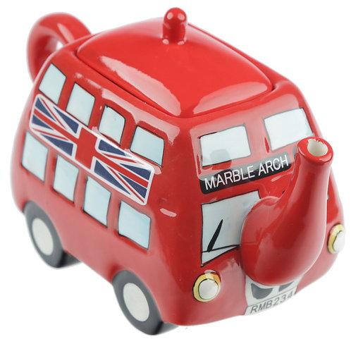Fun Novelty Routemaster Red Bus Teapot