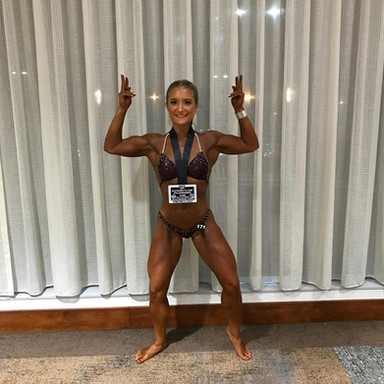 Congratulations Sarah Miller 2nd Place Women's Physique Open Class at the NPC Baltimore Classic Championships! Thanks @brianhoydicifbbpro 👊🏾 TC Muscle Trust the Process! TKO Erie Go Hard or Go Home! @ Hilton Baltimore Bwi Airport-Hotel