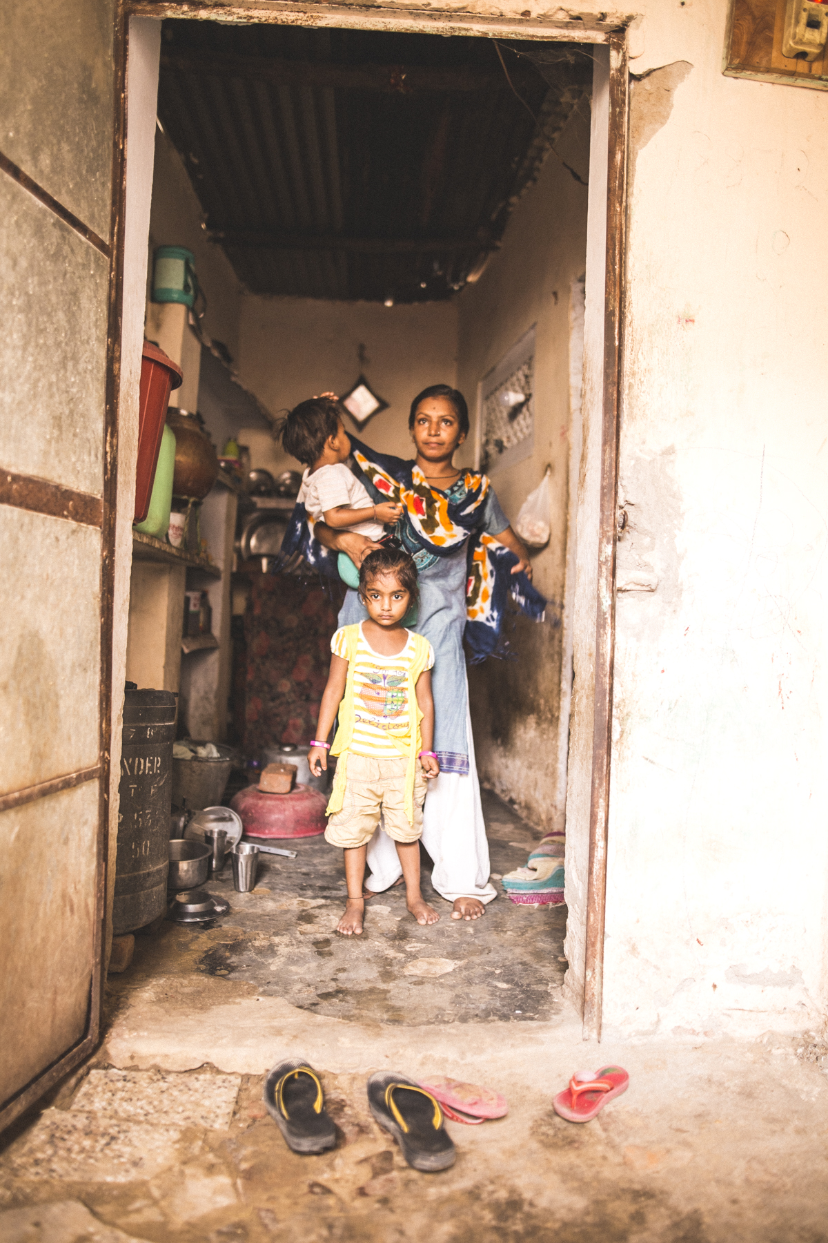 Survival; A Story Of Jaipur's Slums