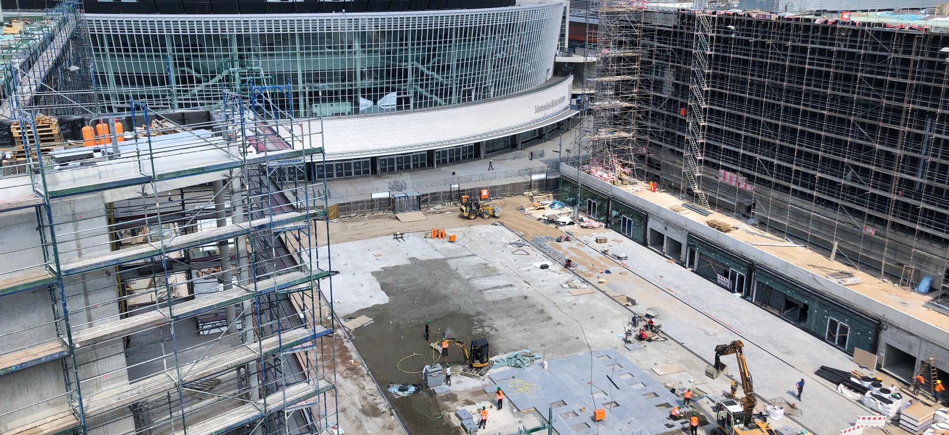Mercedes Platz -BERLIN-