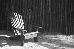 chair at Turtle Inn