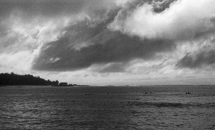 clouds off coast