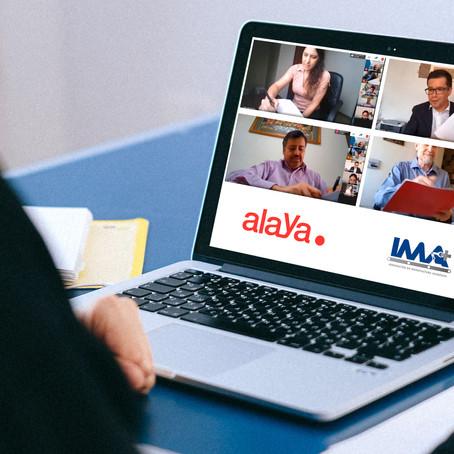 Firma convenio Alaya y el Programa de Innovación de Manufactura Avanzada