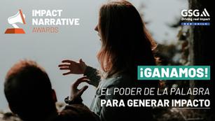 GSG NAB Chile Ganador del premio a Mejor Narrativa de Impacto Global