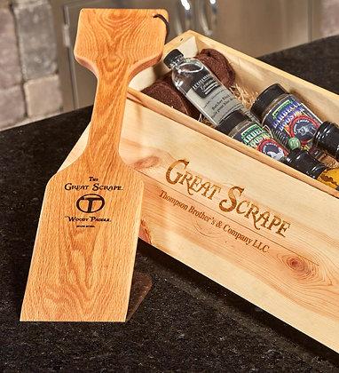 "Personalized ""Paddle"" + BBQ Gift Box"