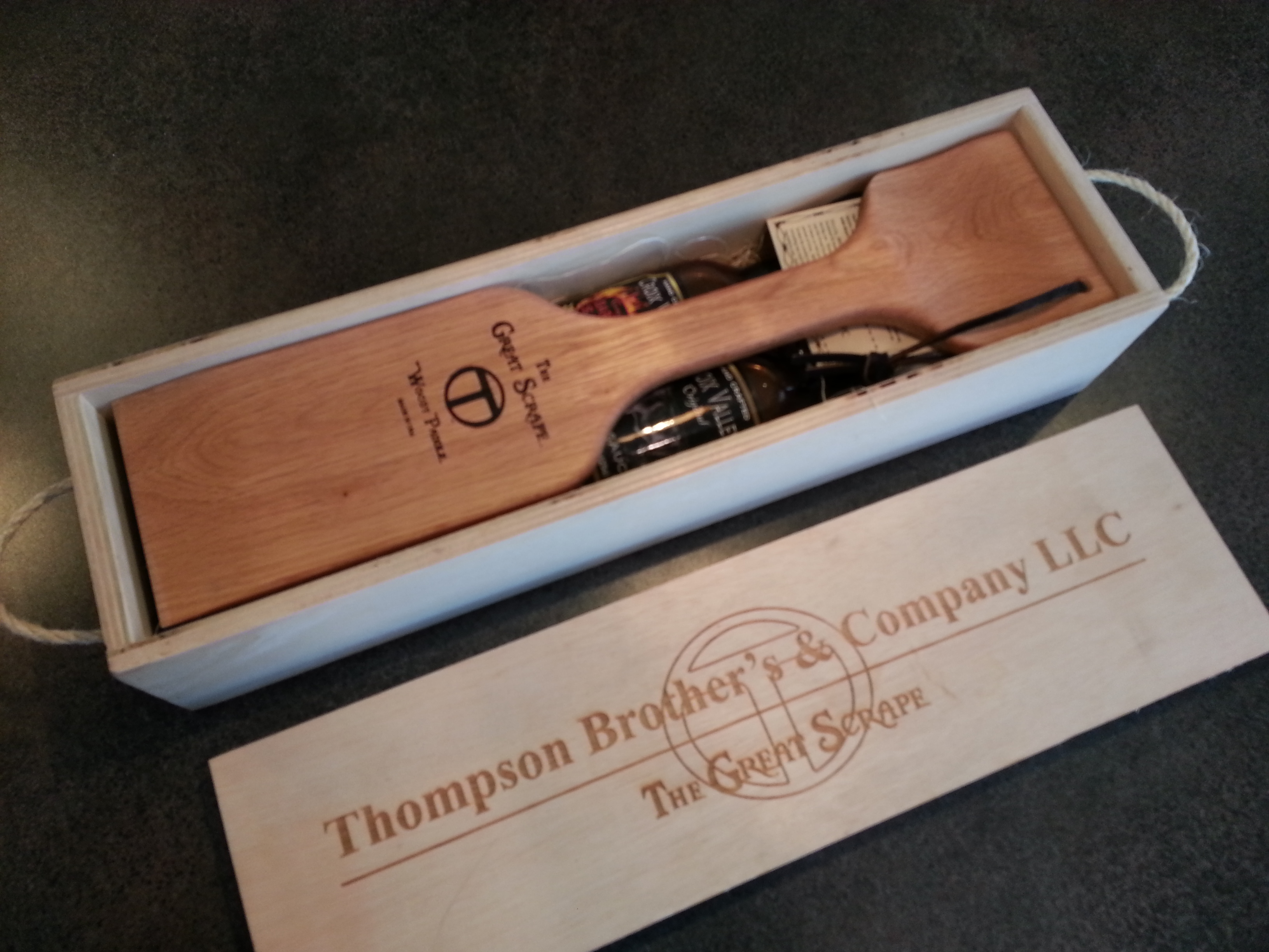 Gift Box with contents and Paddle