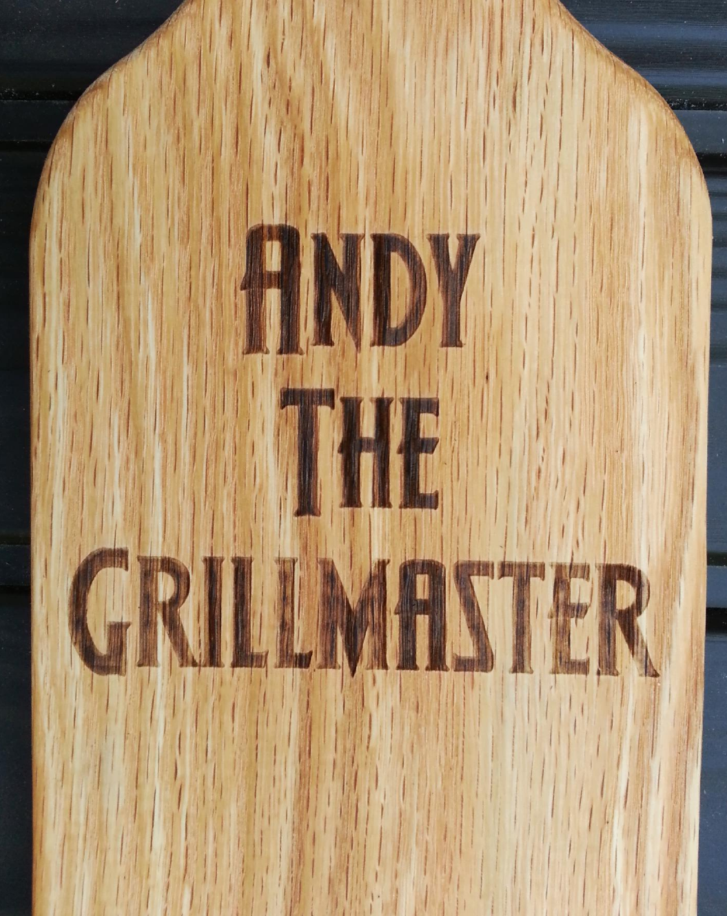 Personalized grillmaster example