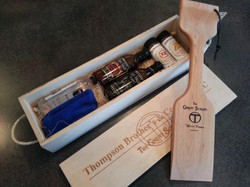 Gift Box and Woody Paddle