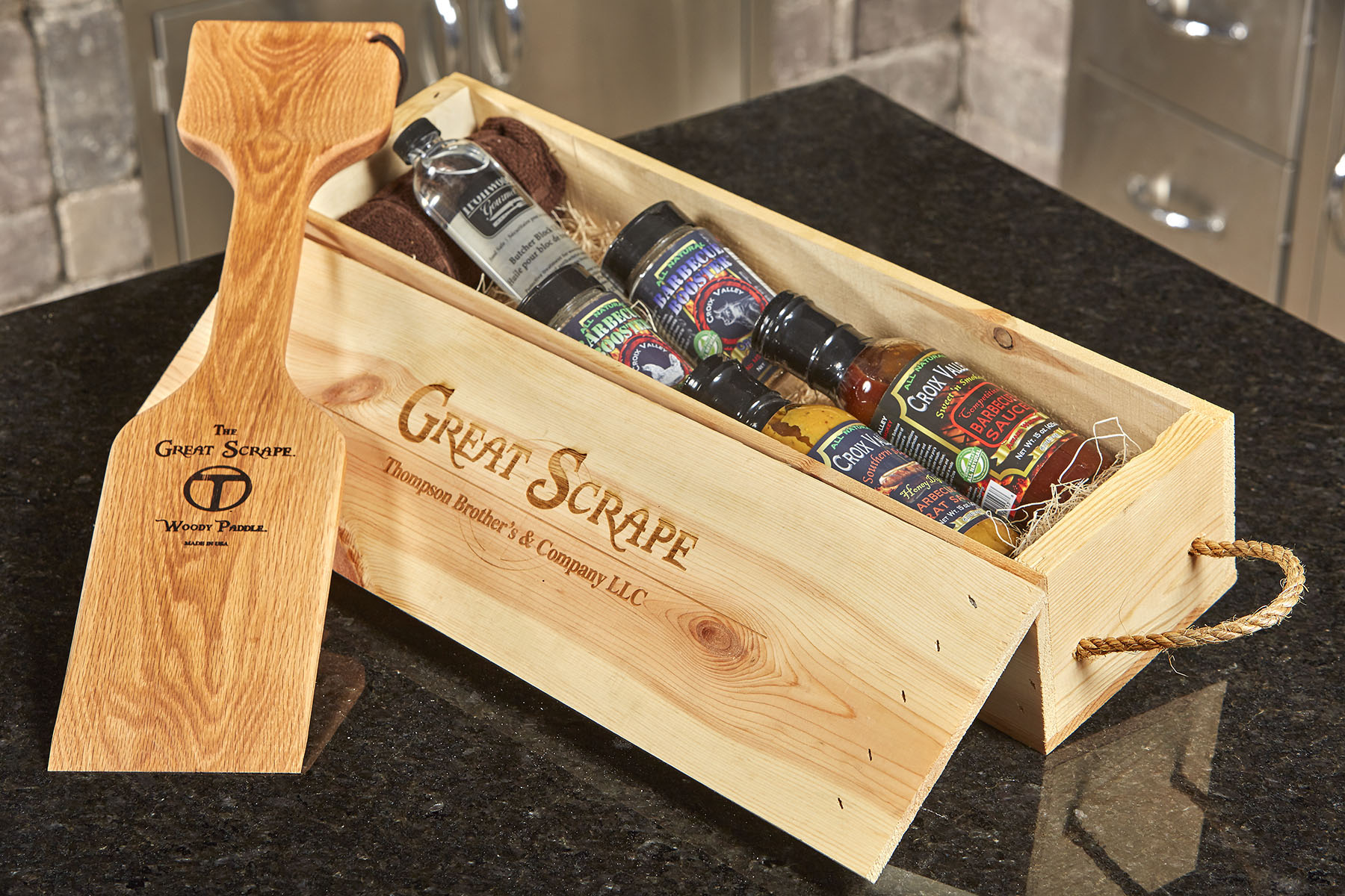 Great Scrape Gift Box Paddle