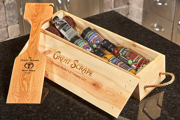 "Personalized ""Woody"" + BBQ Gift Box"