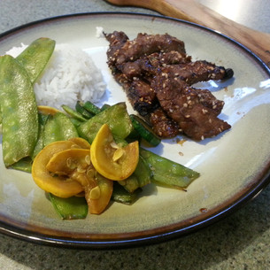 Grilled Korean Bulgogi