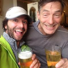 Patrick and Max after drinking the Sandia XC koolaid, Las Vegas, NM.