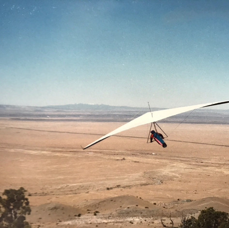 Bill Lemon flying Blu Springs back in the day