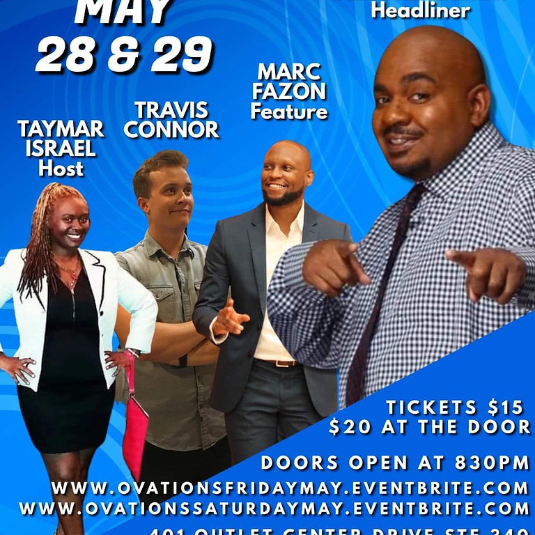 Ovations Entertainment Group Saturday