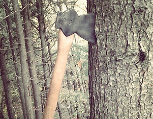 Here's another chopper to get the job done.#axe #manlyshit #blacksmith #camping #ironwork.jpg