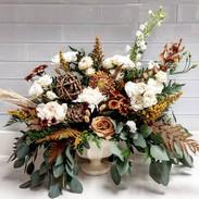 Large Compote sympathy vase