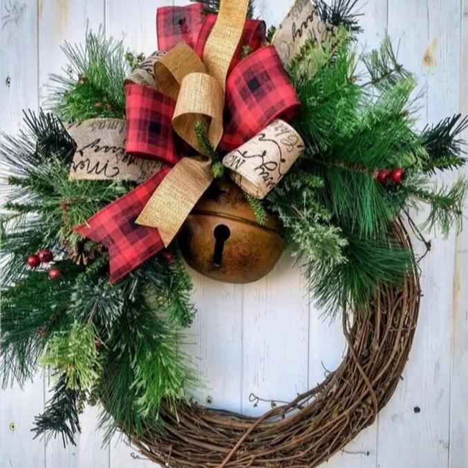 Christmas Wreath Class
