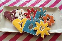 Thank You Cookies - With Ribbon