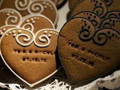 Embossed Wedding Cookies