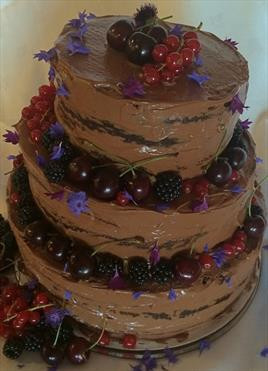 Three Tier Nude Chocolate - €POA